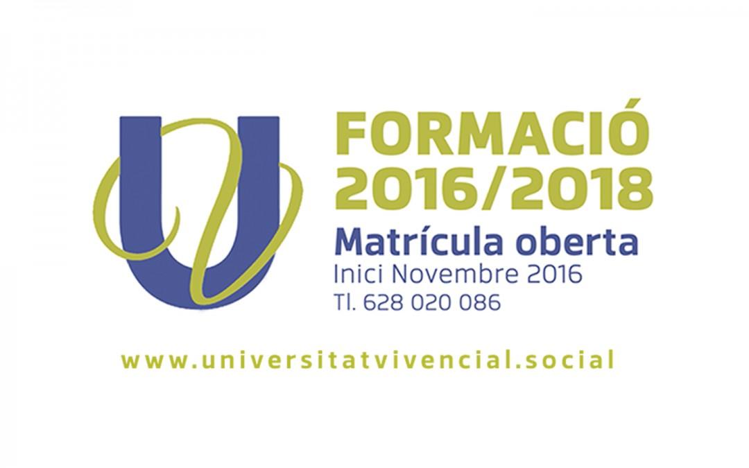 Matrícula Oberta – Universitat Vivencial